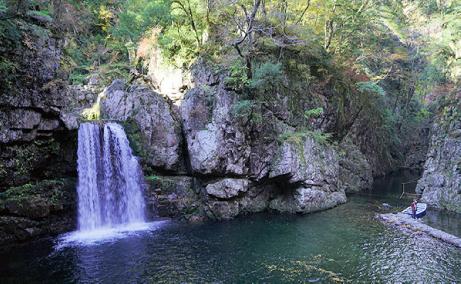 二段滝のイメージ写真